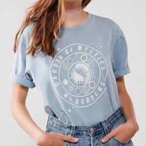 "BDG Tops - UO ""Garden of Mystics"" Short Sleeve T-Shirt"